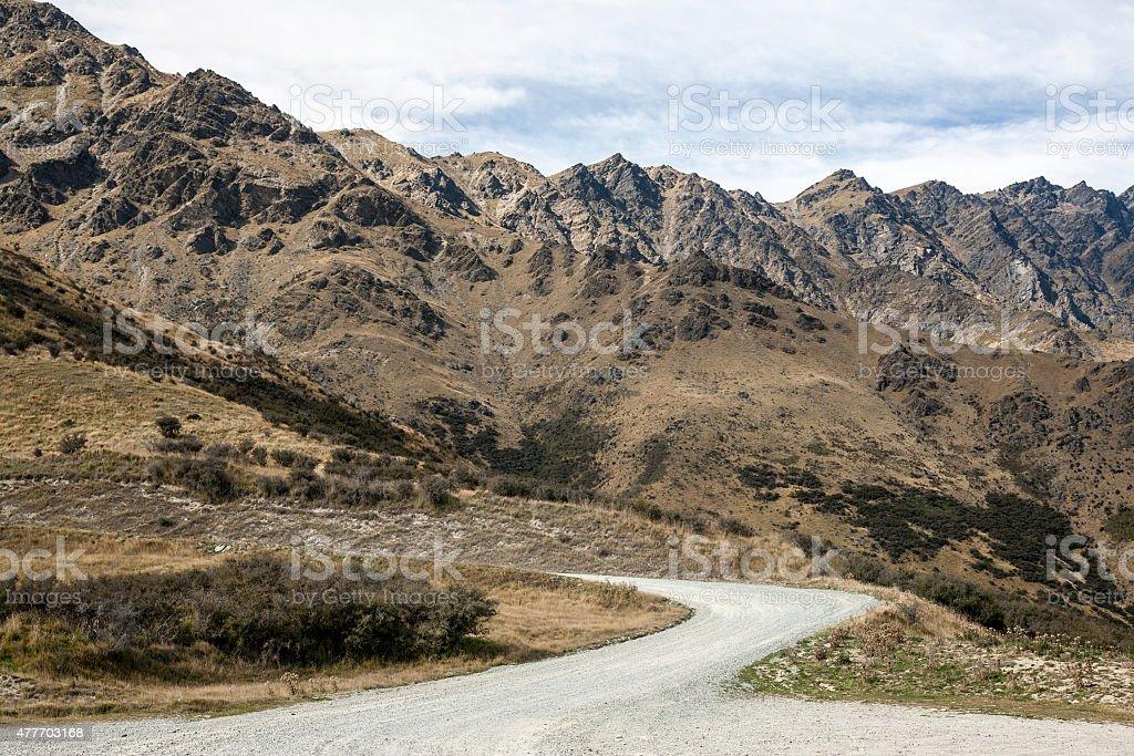 Arid Mountains Area stock photo