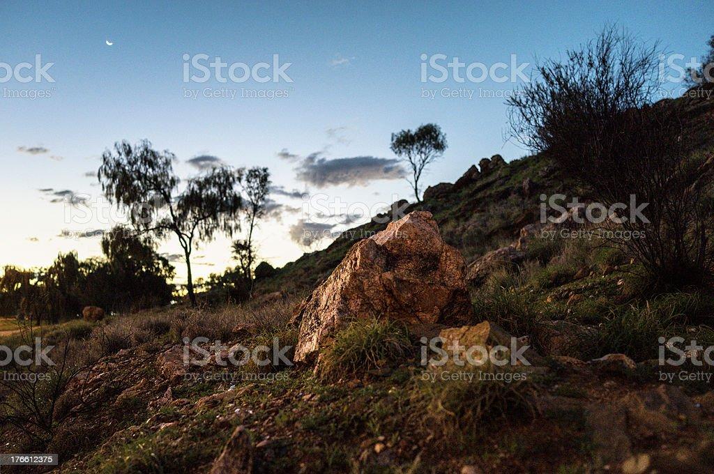 Arid Rocks royalty-free stock photo
