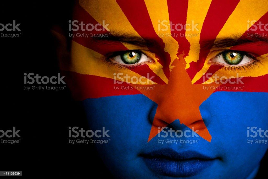 Arizona boy stock photo