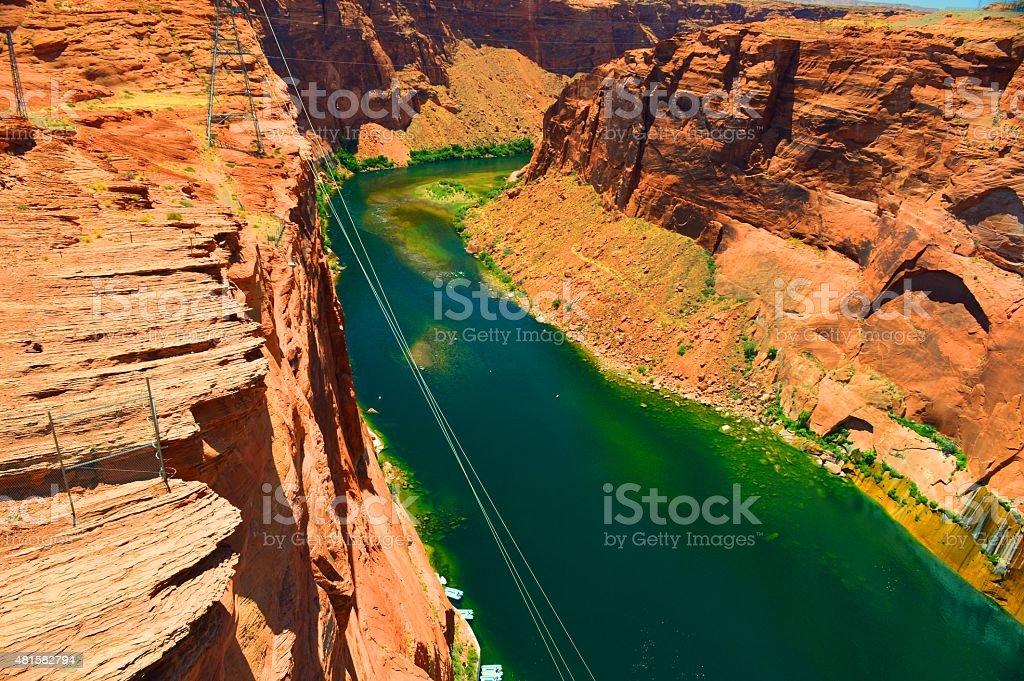 Canyon de l'Arizona 11 photo libre de droits