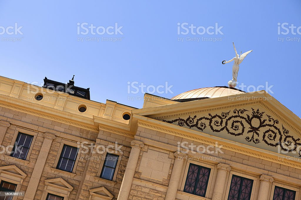 Arizona Capital Building royalty-free stock photo