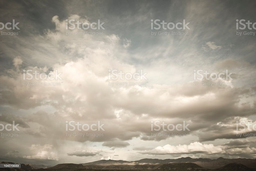 Arizona Cloudscape royalty-free stock photo