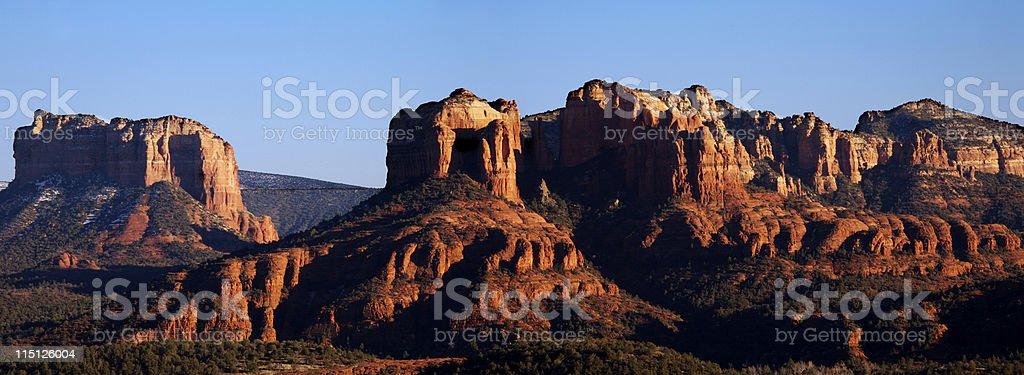 Arizona desert life cathedral rocks royalty-free stock photo
