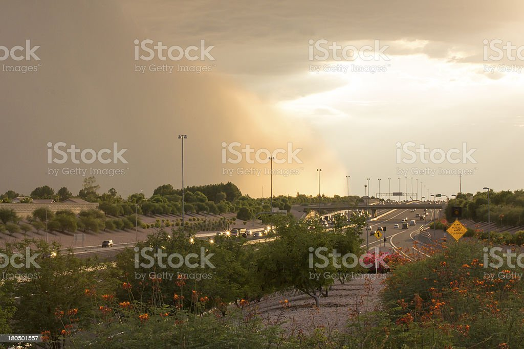 Arizona Dust Storm royalty-free stock photo