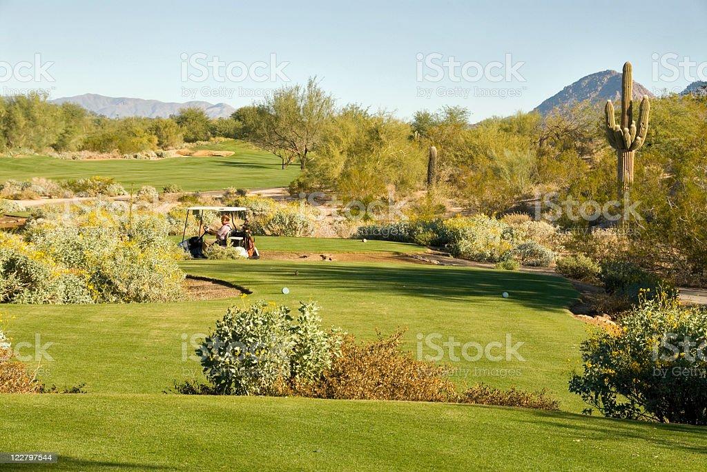 Arizona Golf royalty-free stock photo