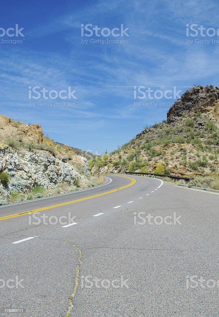 Arizona Highway Lizenzfreies stock-foto