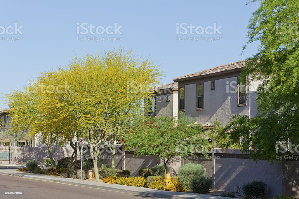 Arizona Housing royalty-free stock photo