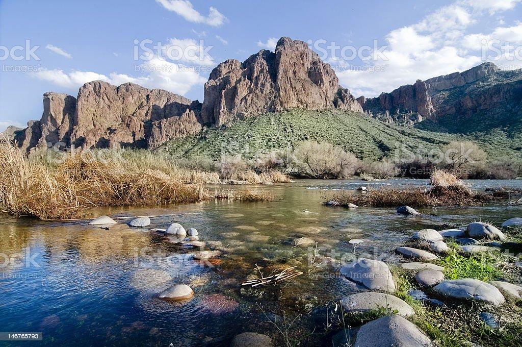 Arizona Landscape royalty-free stock photo