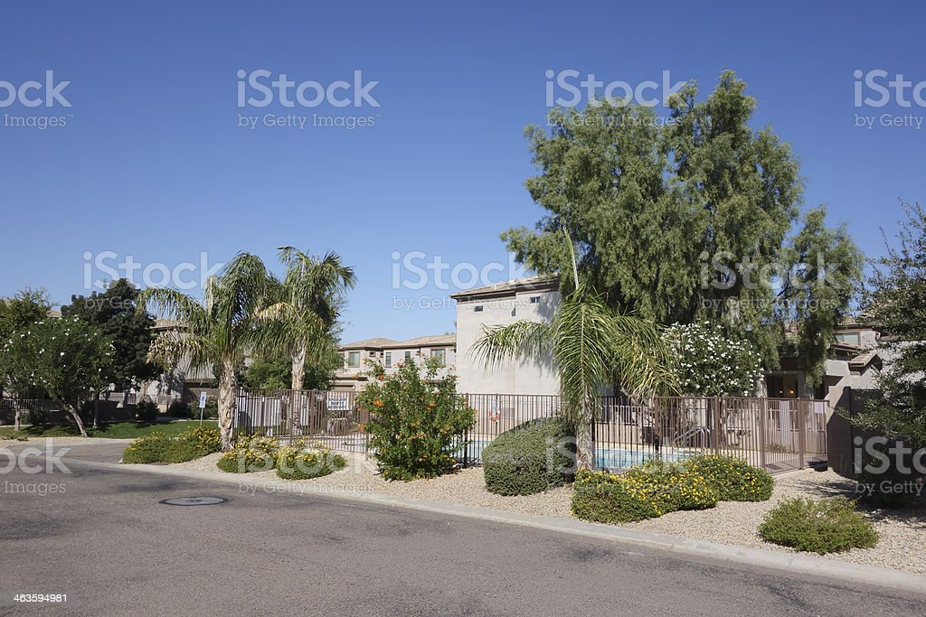 Arizona Living in Phoenix stock photo