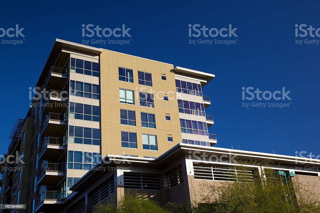 Arizona Luxury Condominiums royalty-free stock photo