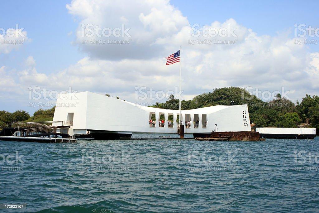 U.S.S. Arizona Memorial stock photo