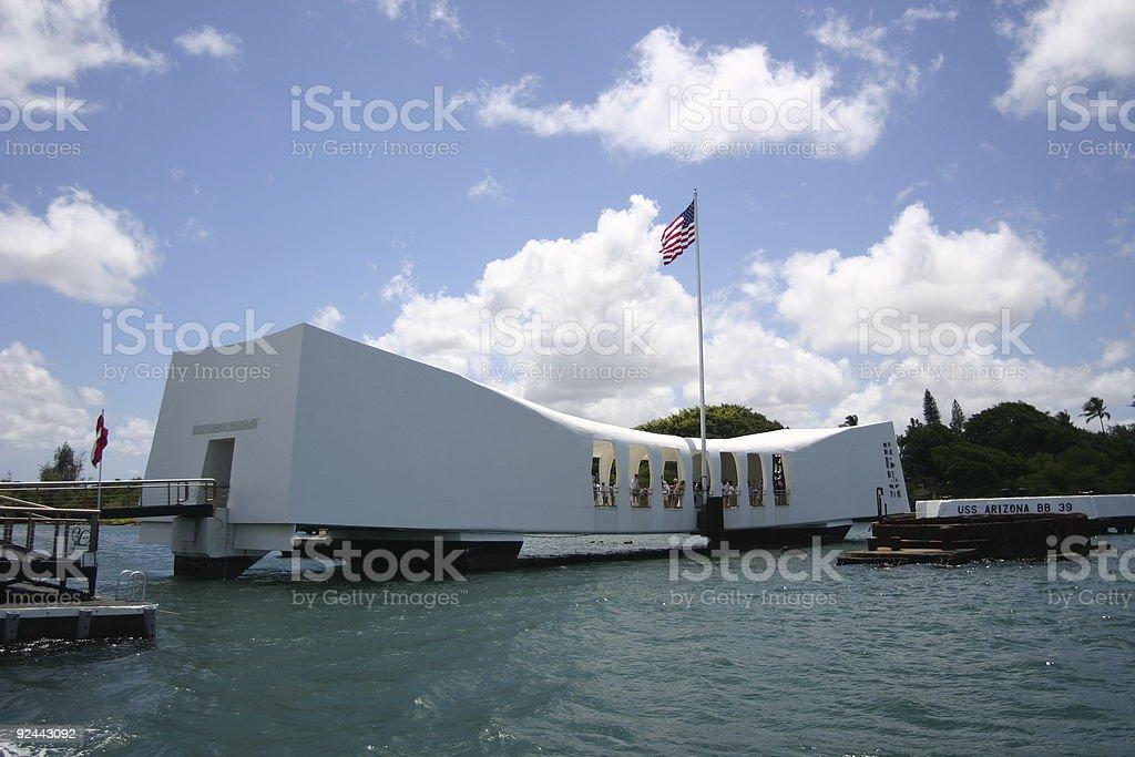 Arizona Memorial stock photo