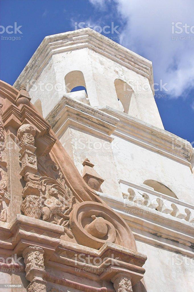 Arizona Mission Church stock photo