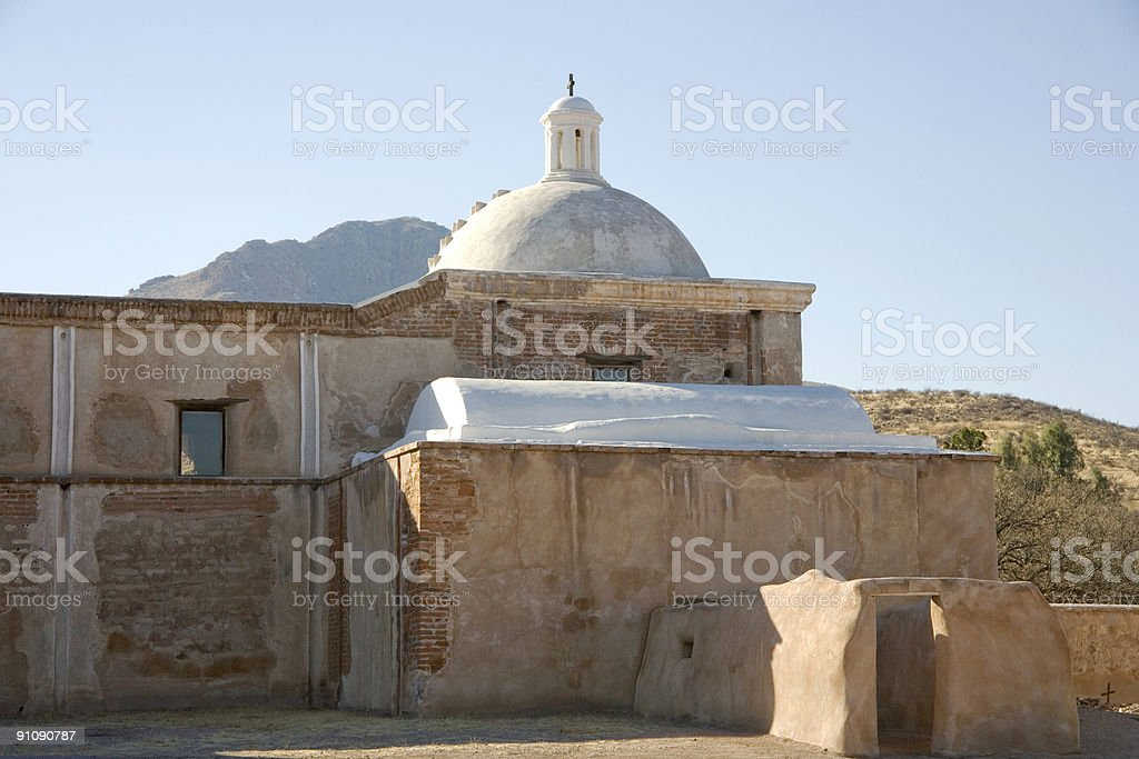 Arizona: Mission San Jose de Tumacacori stock photo