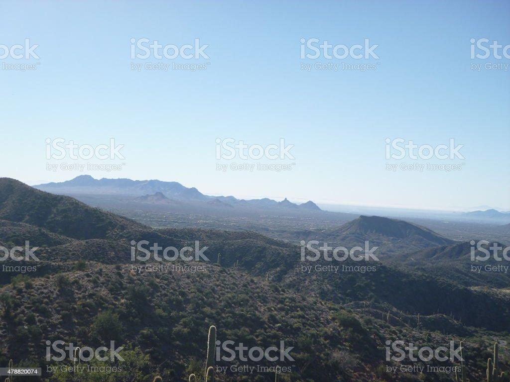 Arizona Mountain View stock photo