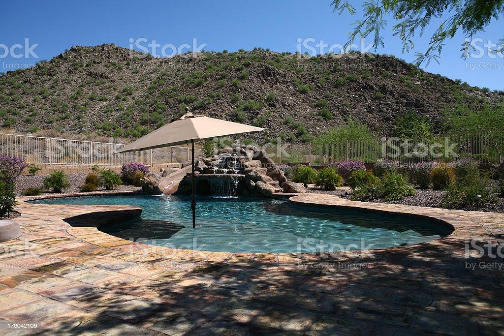 Arizona Pool royalty-free stock photo