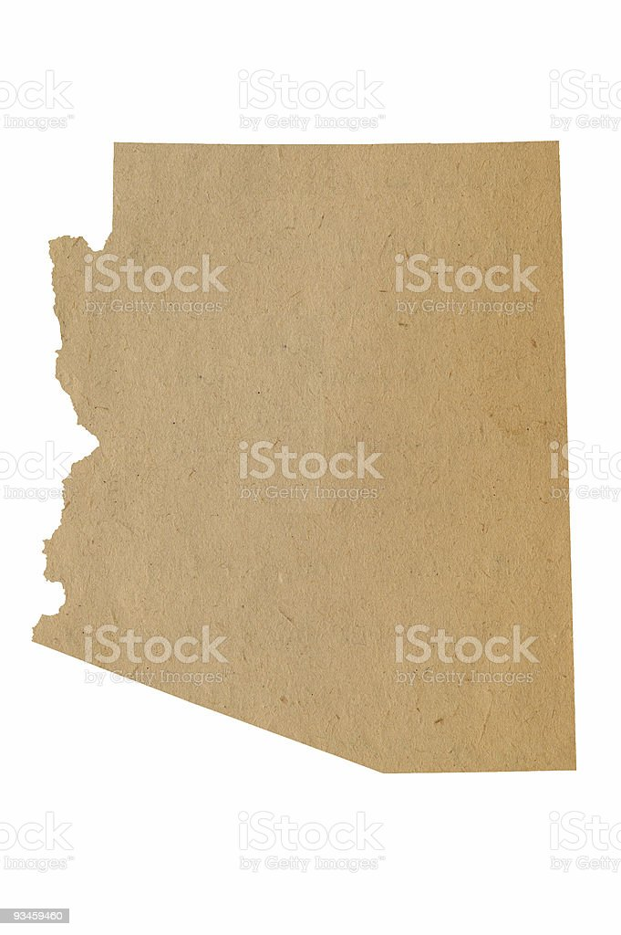 Arizona Recycles stock photo