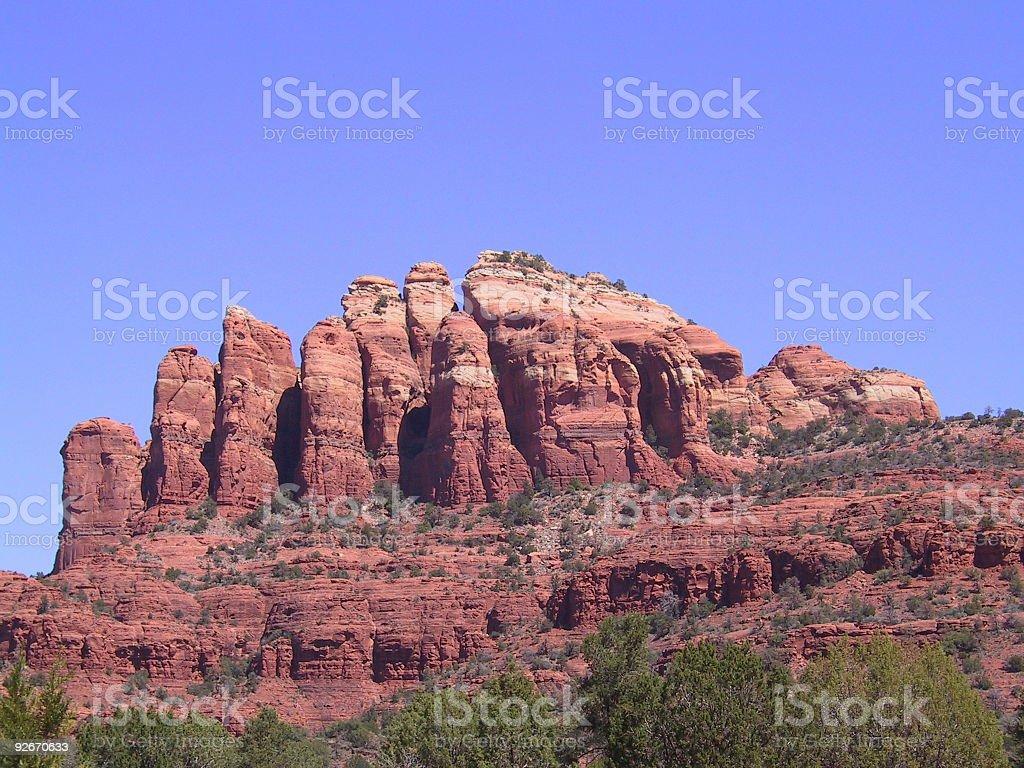 Arizona red rock royalty-free stock photo