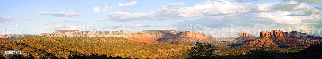 Arizona Red Rocks royalty-free stock photo