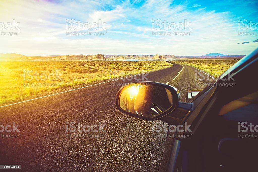 Arizona Scenic Drive stock photo