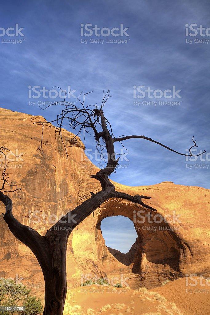 Arizona panoramica foto stock royalty-free