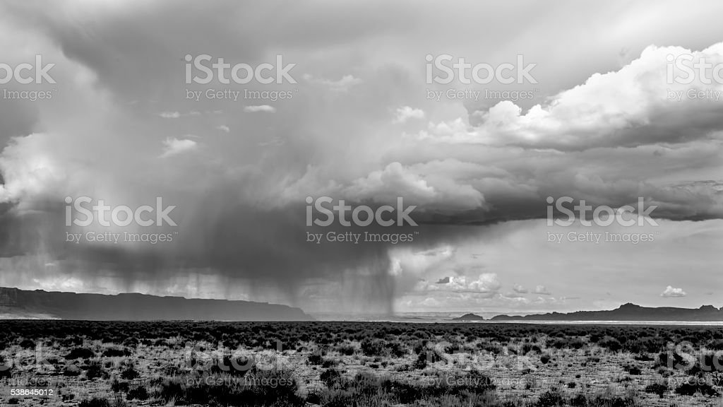 Arizona Skies stock photo
