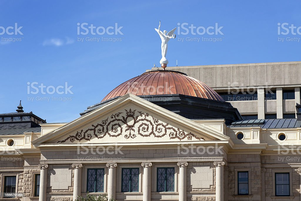 Arizona state capitol building royalty-free stock photo