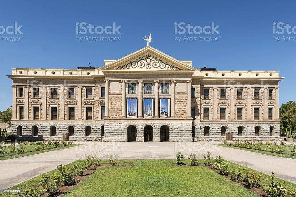 Arizona State Capitol stock photo