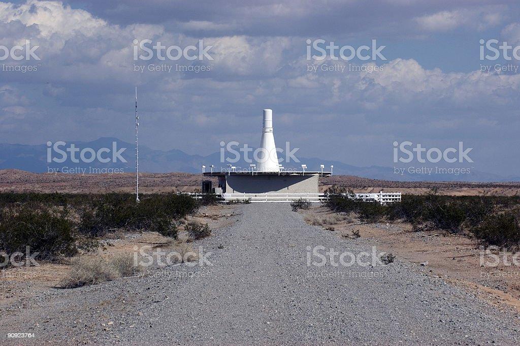 Arizona VOR Station royalty-free stock photo