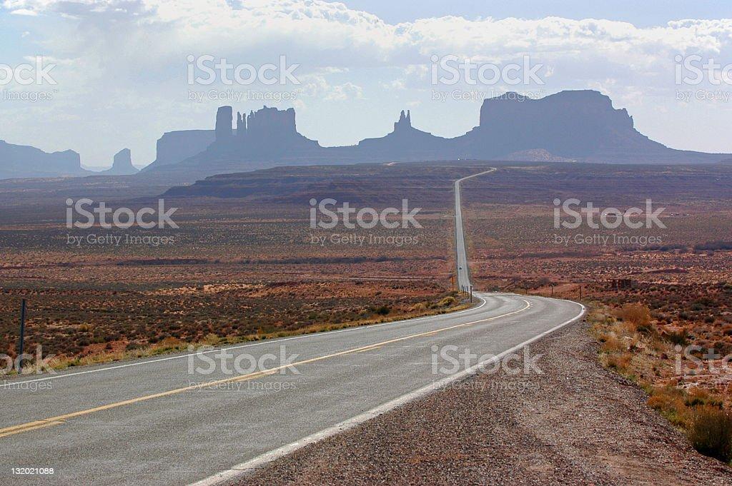 Arizona/Utah royalty-free stock photo