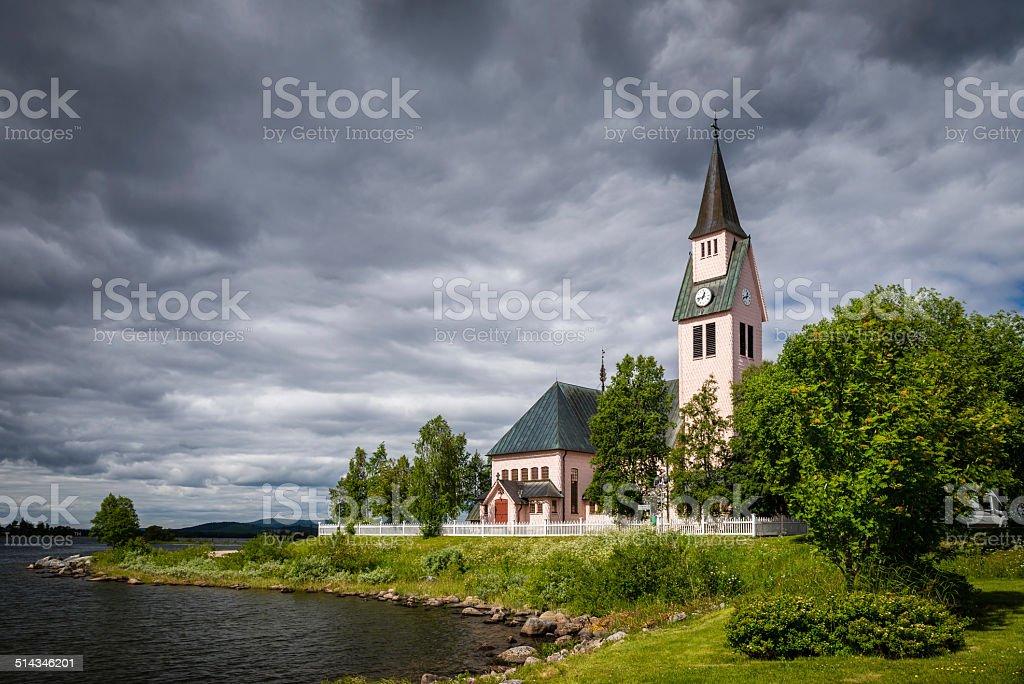 Arjeplog, Sweden stock photo