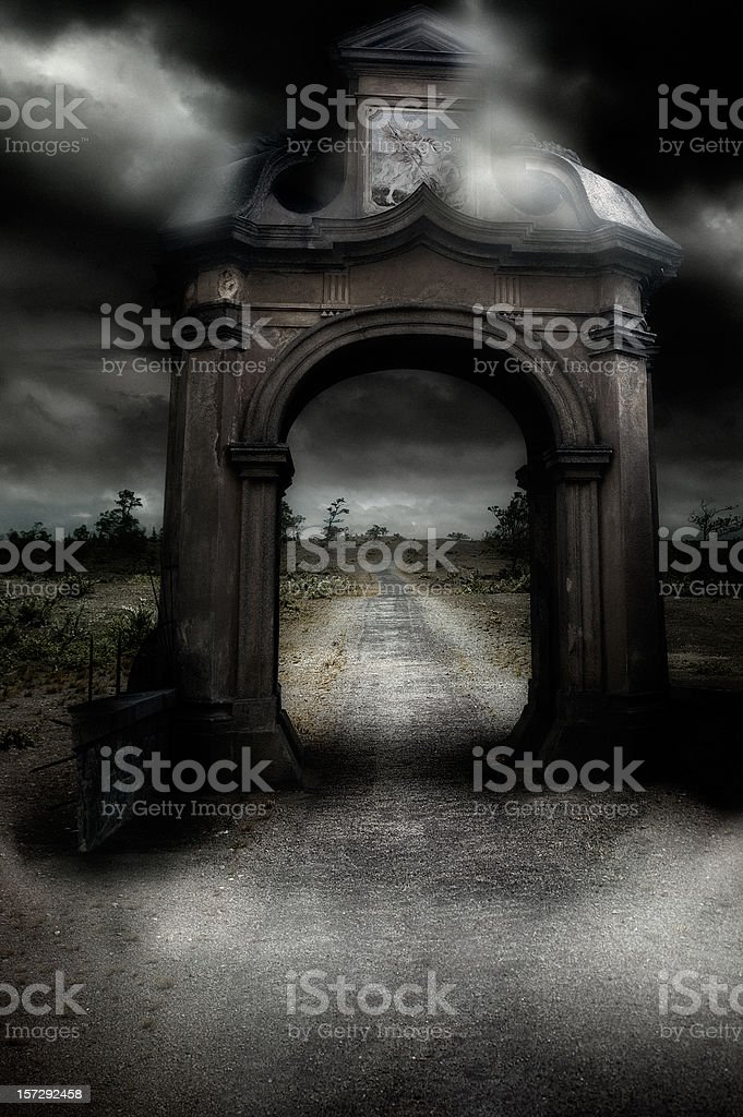 Ark And Path stock photo