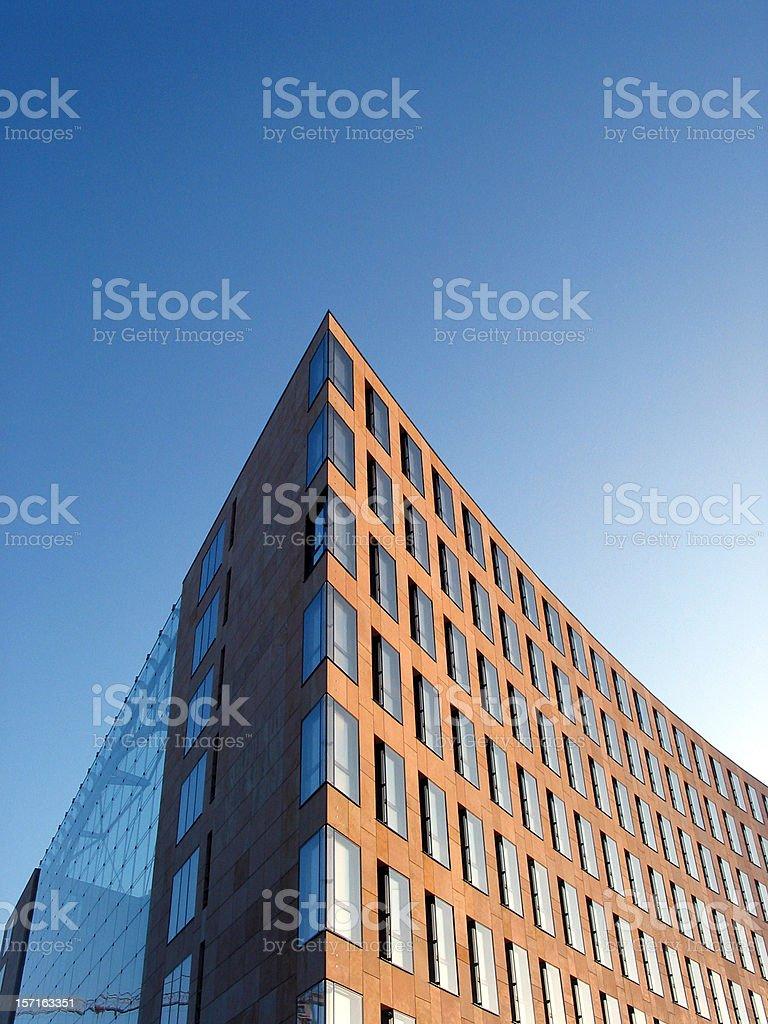 Ark designed building royalty-free stock photo