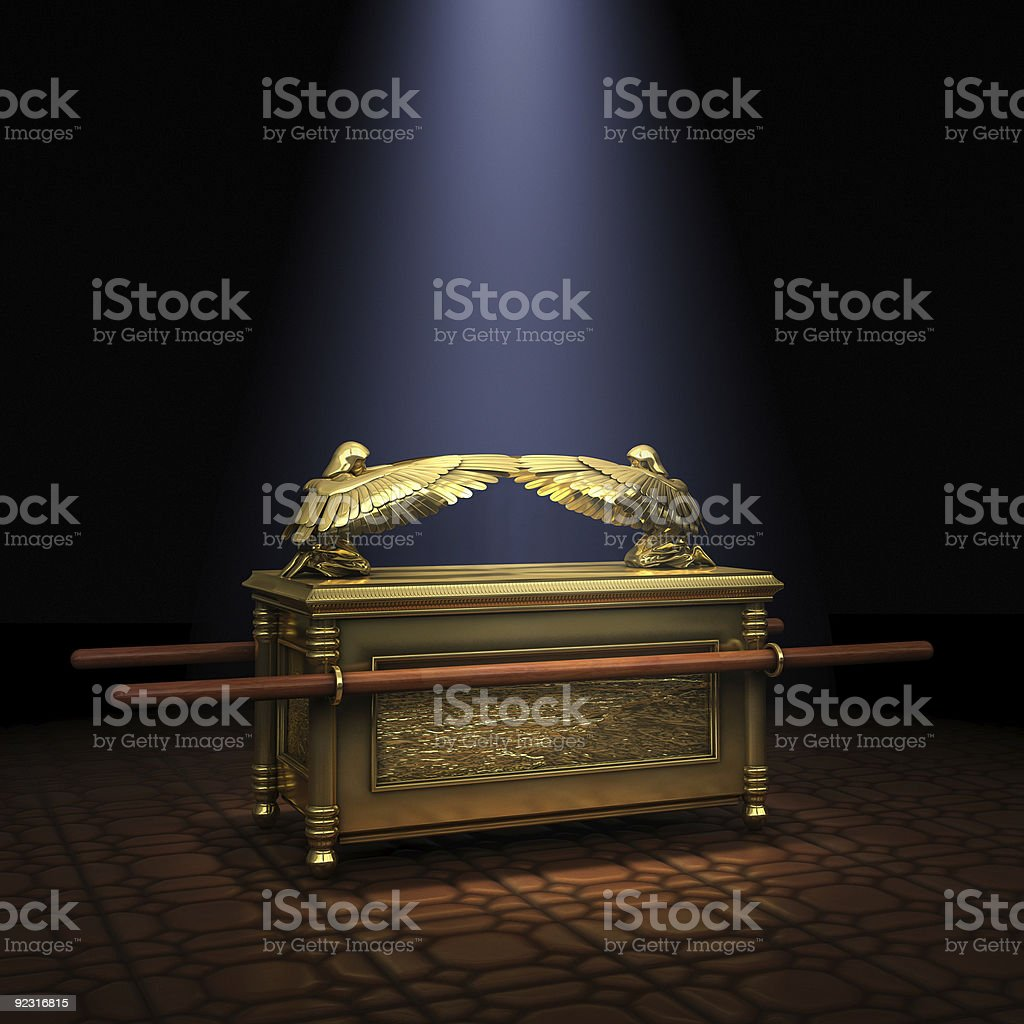 Ark of the Covenant stock photo