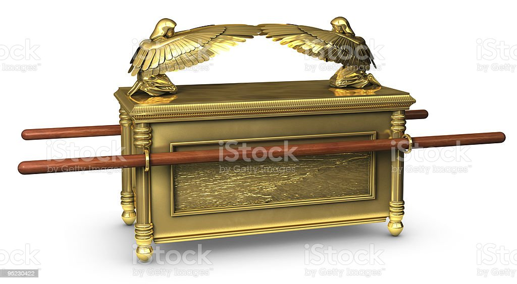 Ark of the Covenant royalty-free stock photo