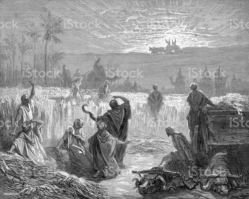 Ark Of The Covenant Returning stock photo