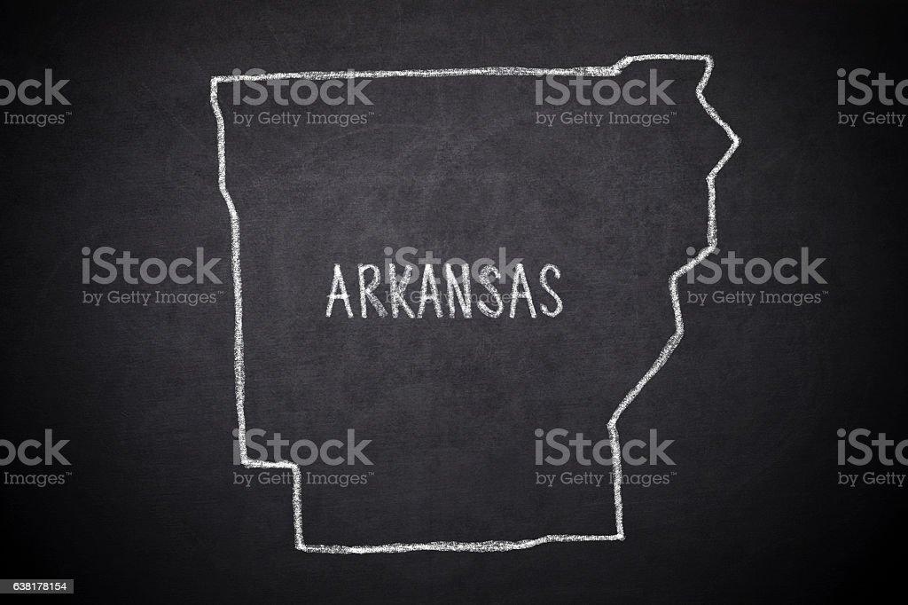 Arkansas stock photo