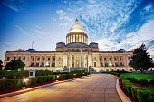Arkansas State Capitol Building In Little Rock