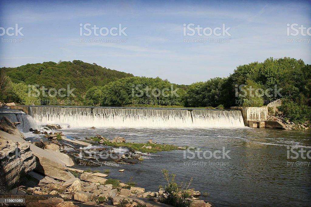 Arkansas Waterfall royalty-free stock photo