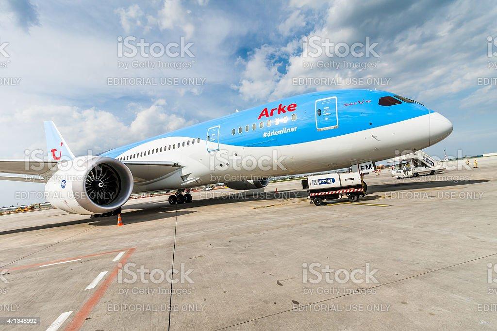 ArkeFly Boeing 787 Dreamliner stock photo