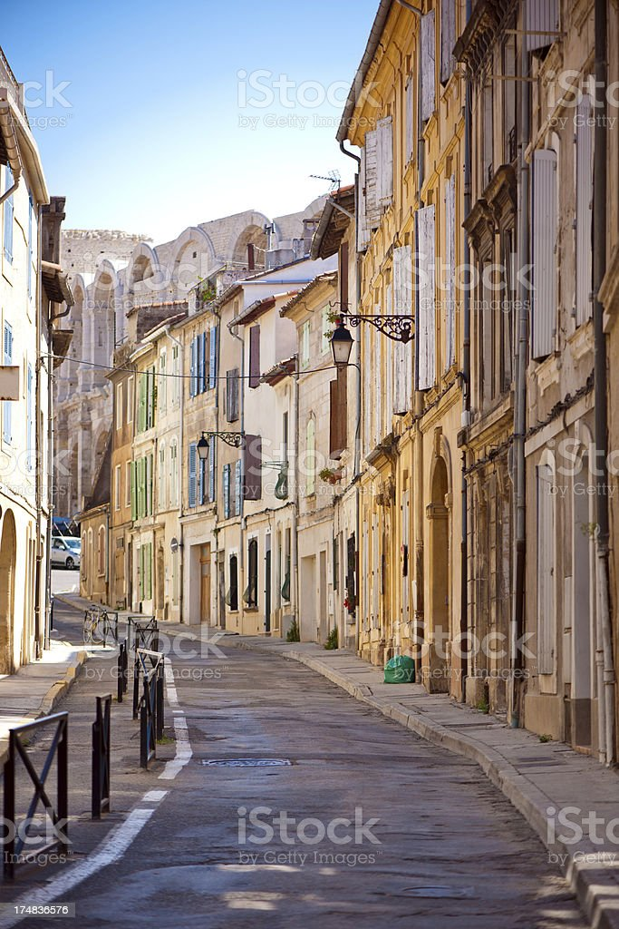 Arles royalty-free stock photo