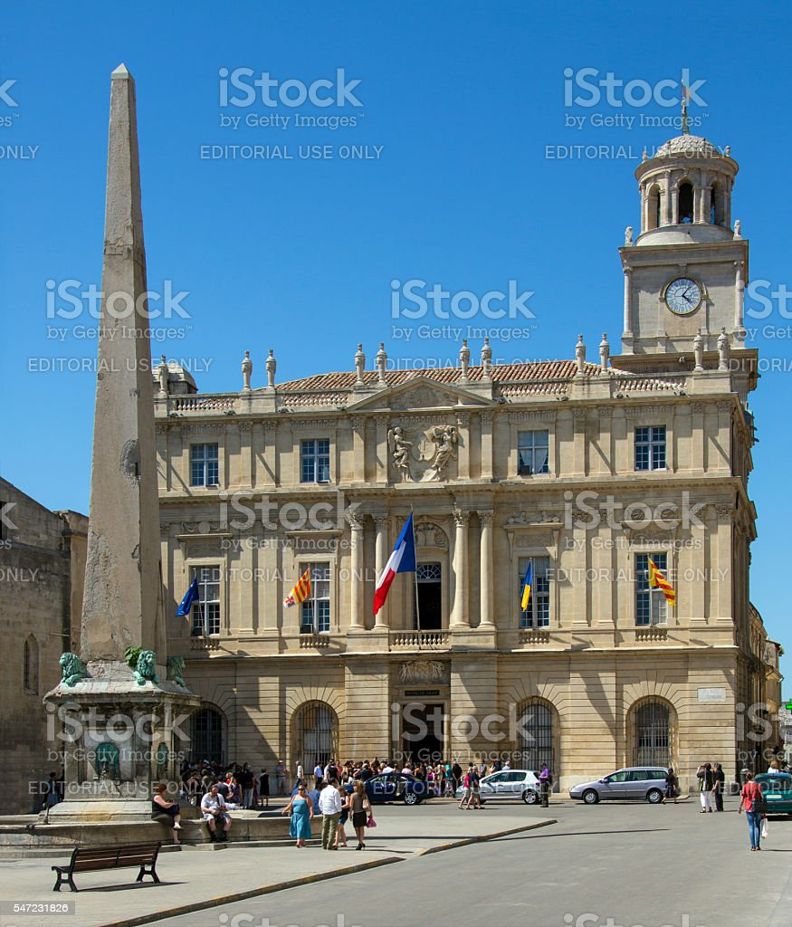Arles - Provence - South of France stock photo