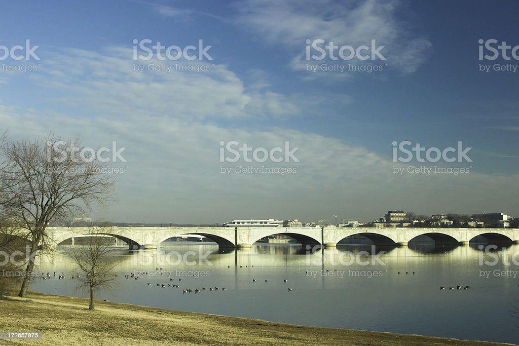 Arlington Bridge stock photo