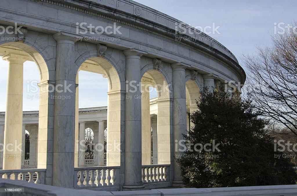 Arlington Cemetary royalty-free stock photo