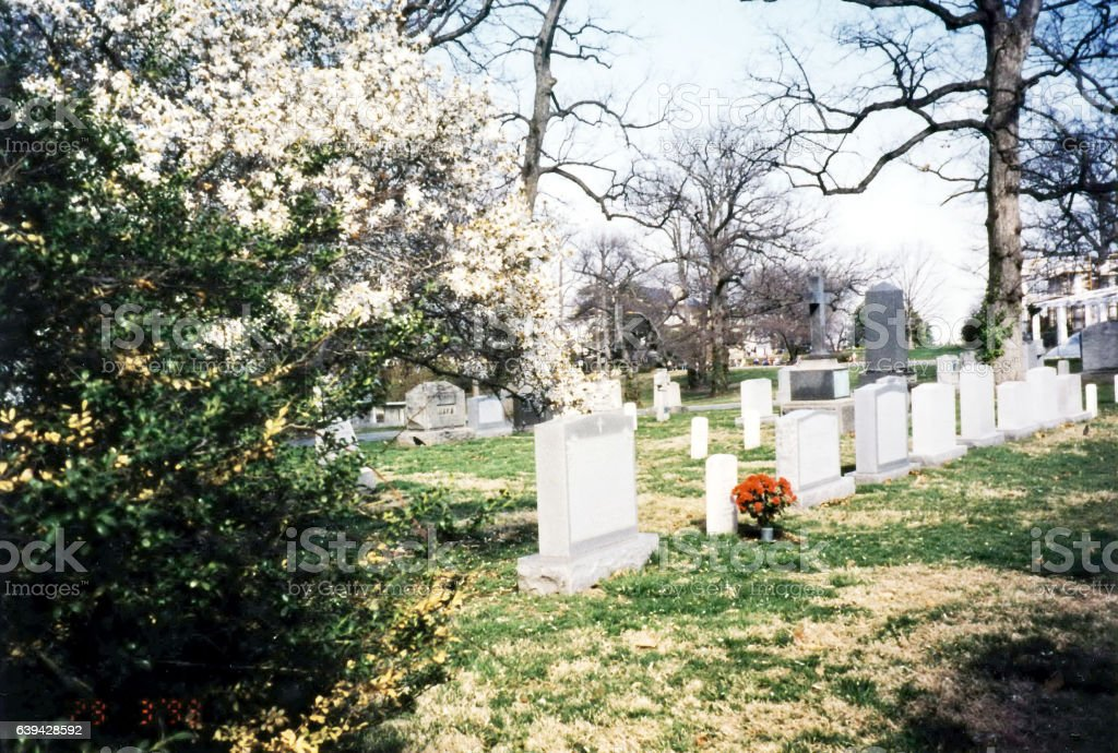 Arlington Cemetery 1999 stock photo