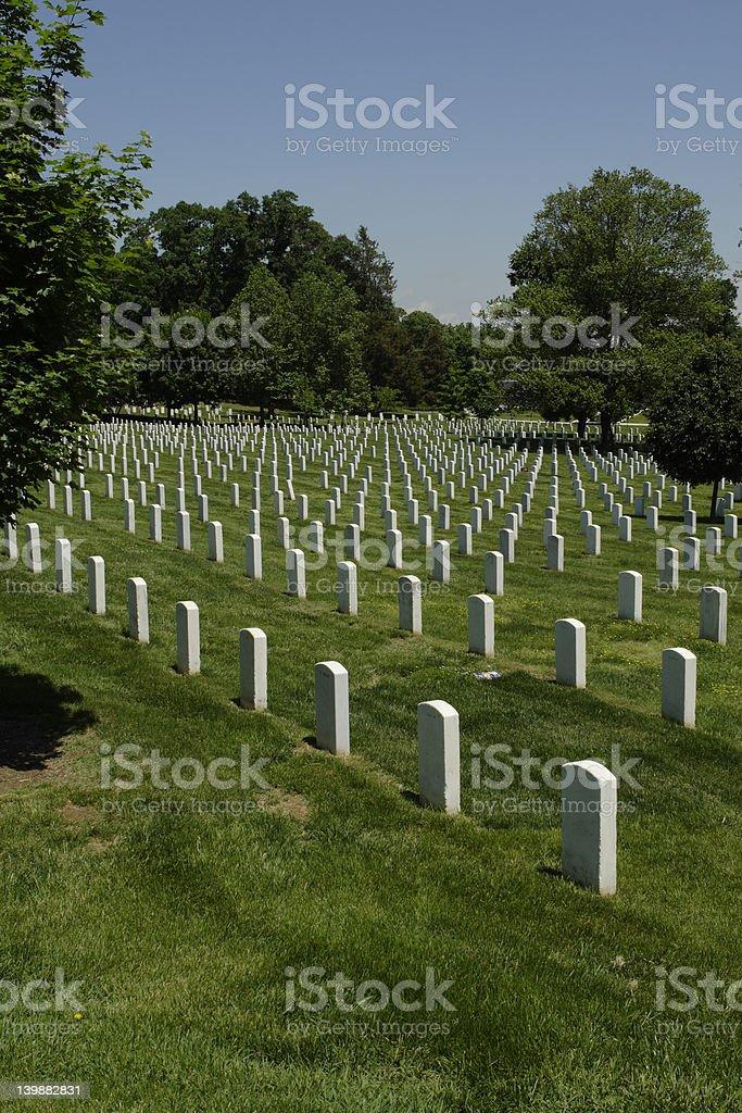 Arlington cemetery royalty-free stock photo