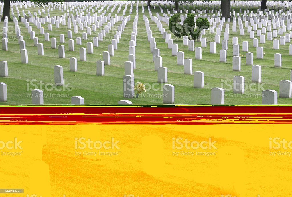 Arlington Cemetery royalty-free stock photo