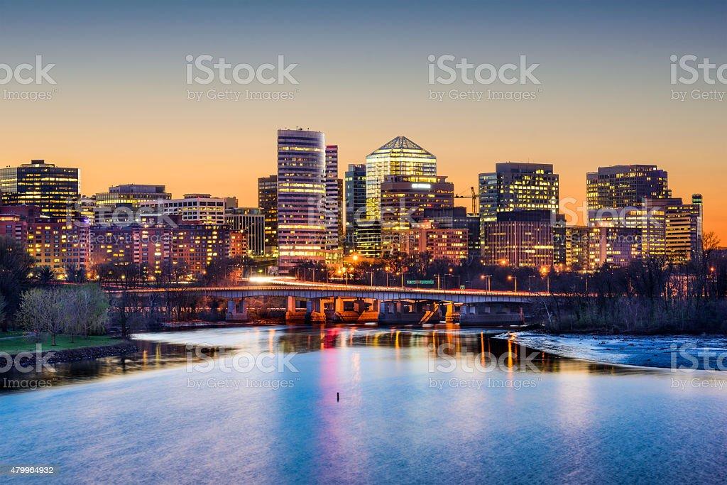 Arlington Financial District stock photo