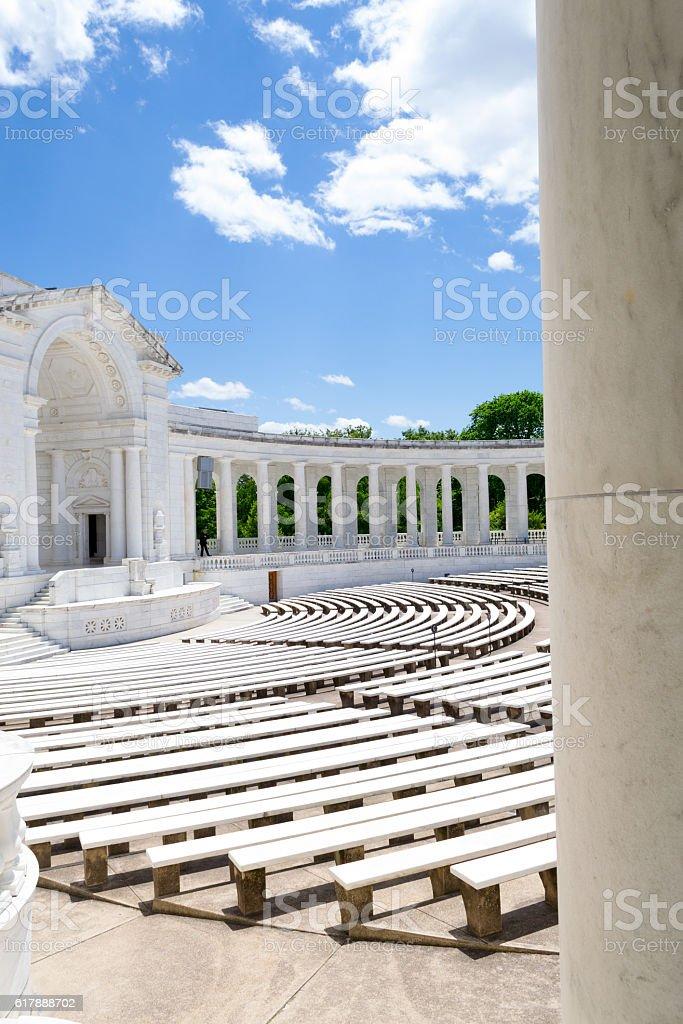 Arlington Memorial Amphitheatre in DC stock photo