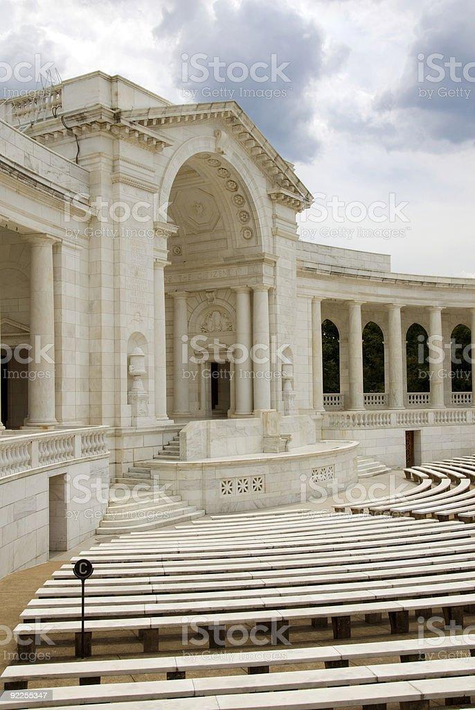 Arlington National Cemetery - Auditorium royalty-free stock photo